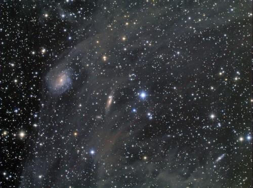 la $galassia$ a spirale IC 4633