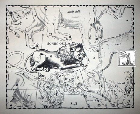 il Leone Minore secondo Hevelius
