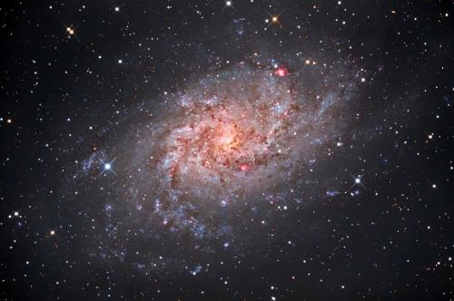 la galassia a spirale M33