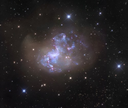 la galassia $NGC$ 1313