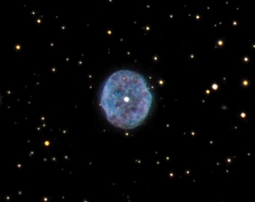 la nebulosa $NGC$ 1501