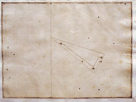 il Triangolo secondo l'Uranometria