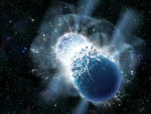 collisione di stelle di neutroni