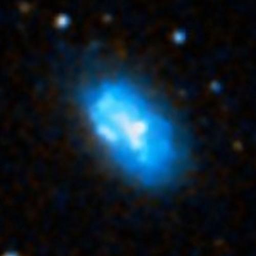 la galassia irregolare $NGC$ 1473