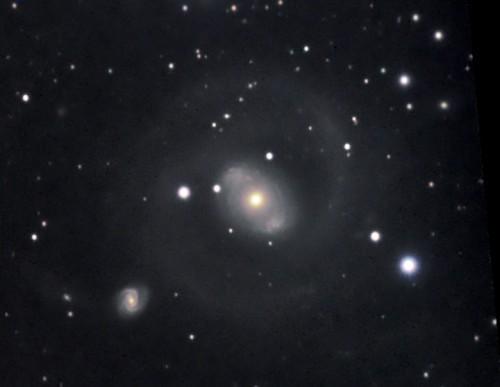 la galassia $NGC$ 4151