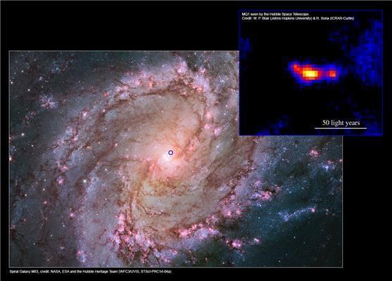 M83 e, nell'inserto, MQ1 con i suoi due getti