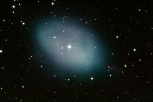 la nebulosa planetaria $NGC$ 1360