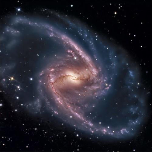 la $galassia$ a spirale barrata $NGC$ 1365
