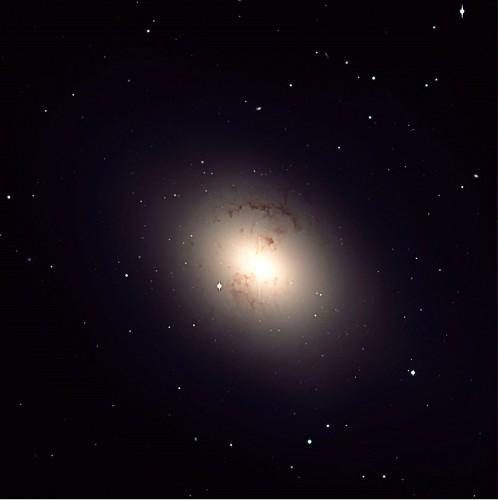 la $galassia$ ellittica $NGC$ 1316, Fornax-A