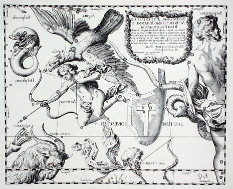 lo Scudo secondo Hevelius