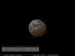 fase dell'eclissi di luna