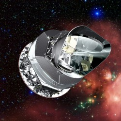 Il satellite spaziale ESA Planck.