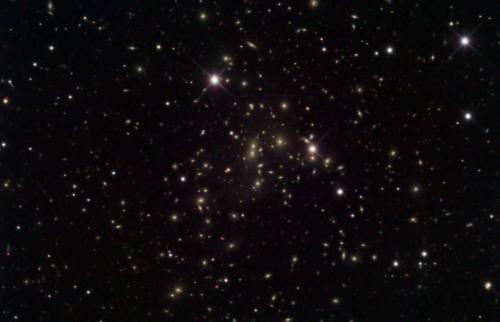 l'ammasso di galassie Abell 2065