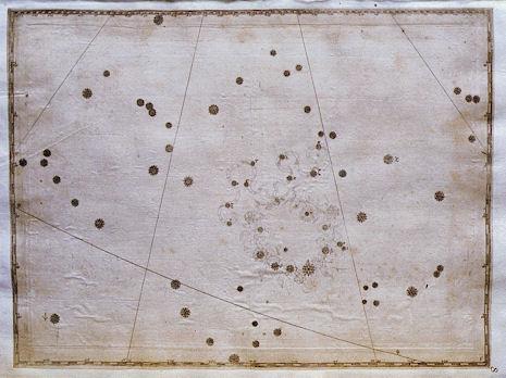 la Corona Boreale secondo l'uranometria