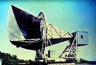 Laboratorio della Bell Telephone dove Arno Penzias & Robert Wilson hanno scoperto per caso la radiazione cosmica di fondo.