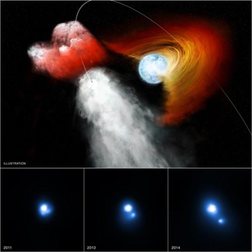 mmagini ai raggi X: NASA/CXC/PSU/G.Pavlov et al; Illustrazione: NASA/CXC/M.Weiss