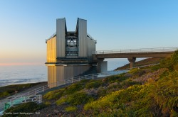Il Telescopio Nazionale Galileo (TNG) sul sito osservativo Roque de los Muchachos nell'isola di La Palma.