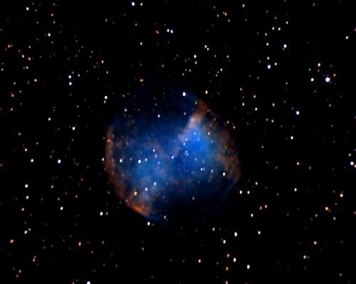 la Dumbbell Nebula, M27