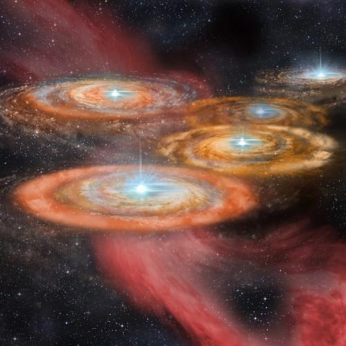 Le protostelle assorbono litio dal gas interstellare