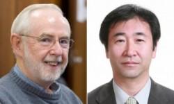 Arthur McDonald e Takaaki Kajita. Crediti: Queens University, Università di Tokyo.
