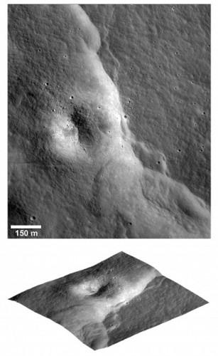 Crediti: NASA/LRO/Arizona State University/Smithsonian Institution