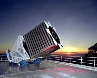 Il telescopio da 2.5 metri dedicato alla SDSS presso l'Apache Point Observatory.