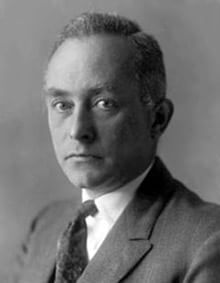 Un ritratto d'epoca di Max Born (1882-1970) (Wikimedia Commons)