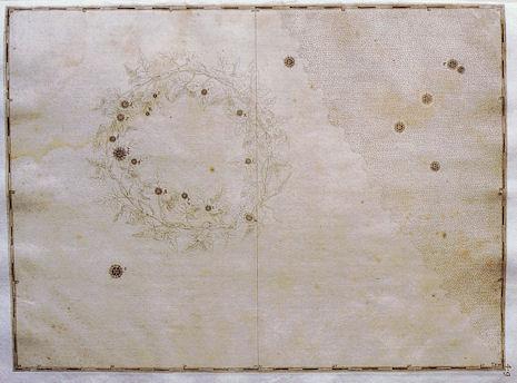 la Corona Australe secondo l'Uranometria