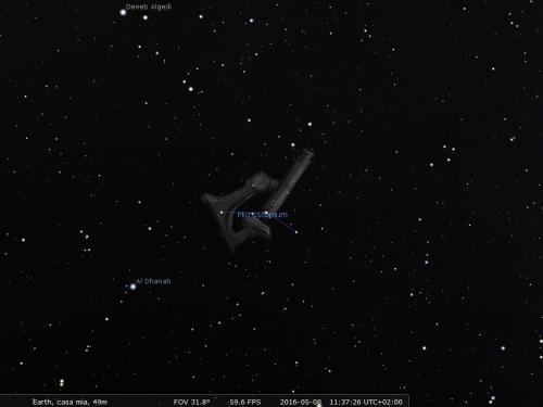 il Microiscopio secondo Stellarium