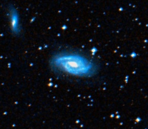 la galassia a spirale $NGC$ 6923