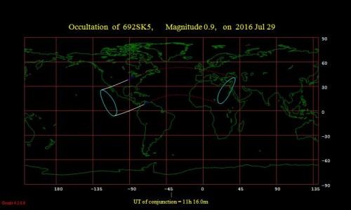occultazione di Aldebaran del 29 luglio
