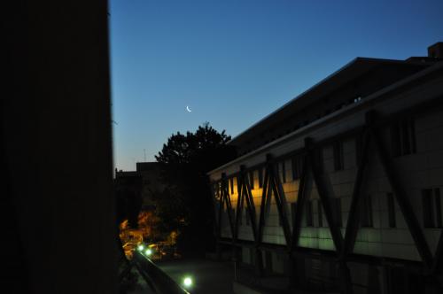 la stretta congiunzione Luna-Aldebaran