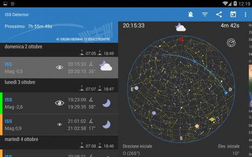 mappa stellare decisamente più ricca e dettagliata