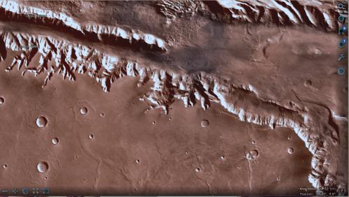 il dettaglio della stessa zona, dal sito della NASA