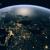 l'Europa vista dalla ISS con in primo piano l'Italia