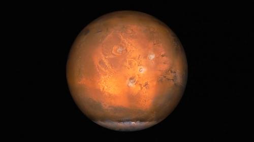 quattro dei cinque monti più alti di Marte
