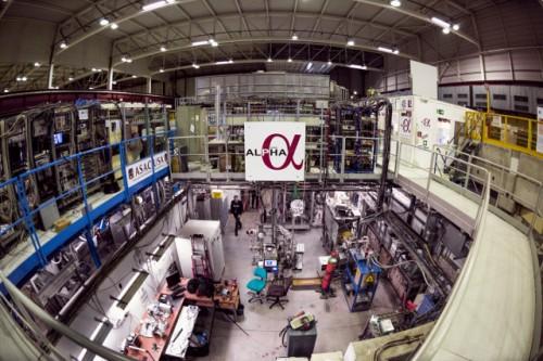 Sede dell'esperimento ALPHA (Foto cortesia Maximilien Brice/CERN)