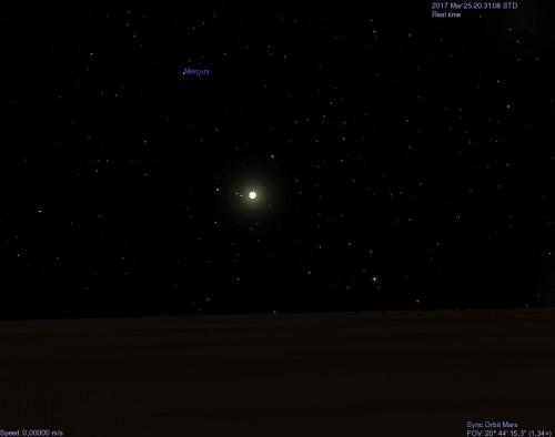il Sole visto da Marte