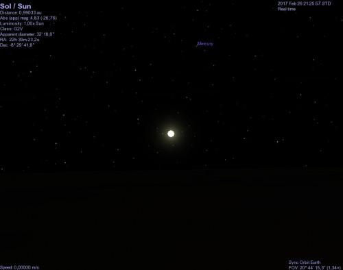 il Sole visto dalla Terra