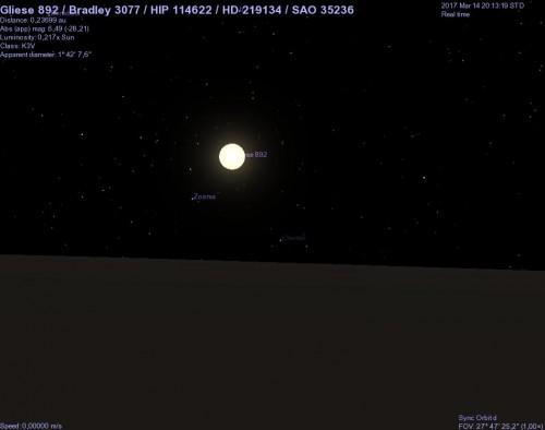 hd 219134 vista dal pianeta d
