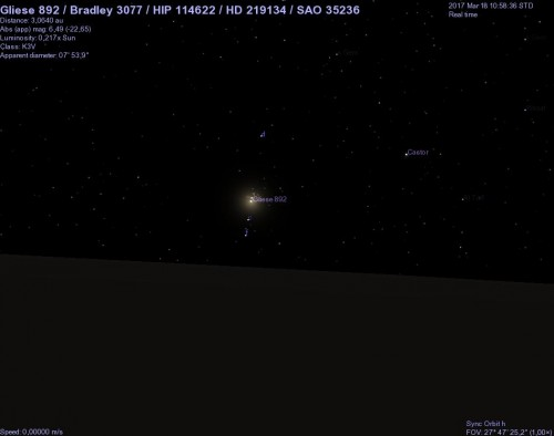 hd 219134 vista dal pianeta h