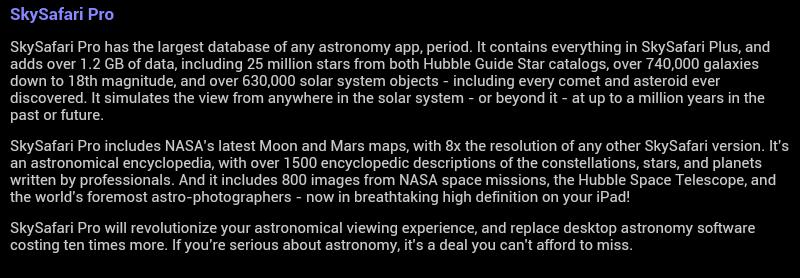 Astronomia e Mobile - SkySafari - Astronomia com