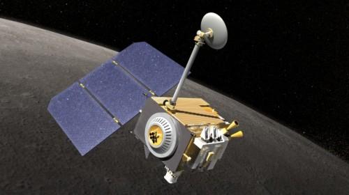La sonda della Nasa, Lunar Reconnaissance Orbiter.