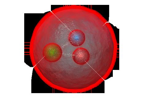 Rappresentazione artistica di Xi (Cortesia CERN)