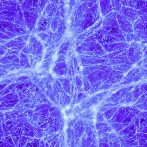 Campo magnetico intergalattico prodotto da Franco Vazza e rielaborato da Vazza F., Brüggen M., Gheller C., Wang P., 2014, Mnras, 445, 3706-3722
