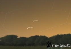 Congiunzione Venere - Saturno, giorno 28 ore 17:00