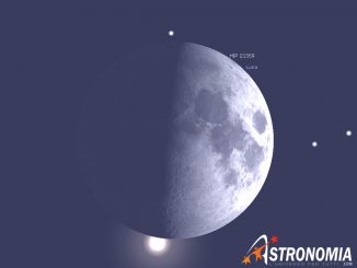 Occultazione Aldebaran, giorno 23 ore 18:23