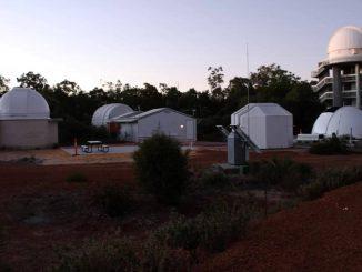 L'Osservatorio di Perth, luogo di avvistamento del bolide