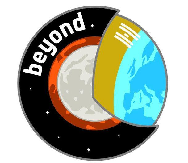 Il logo della missione Beyond
