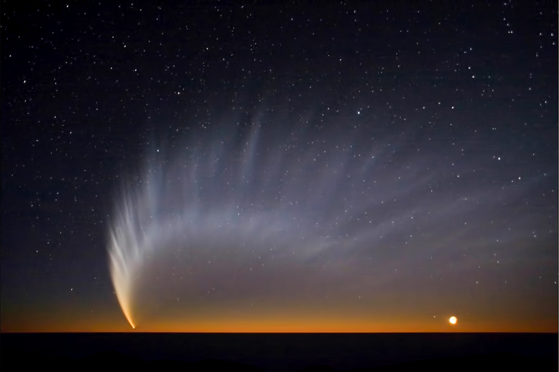 Bolidi nel cielo:le comete Cometa-mcnaught